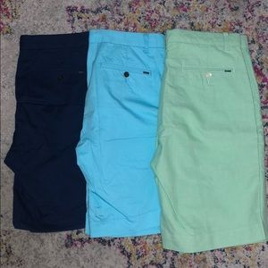 Lot of 3 Polo Ralph Lauren Flat front shorts